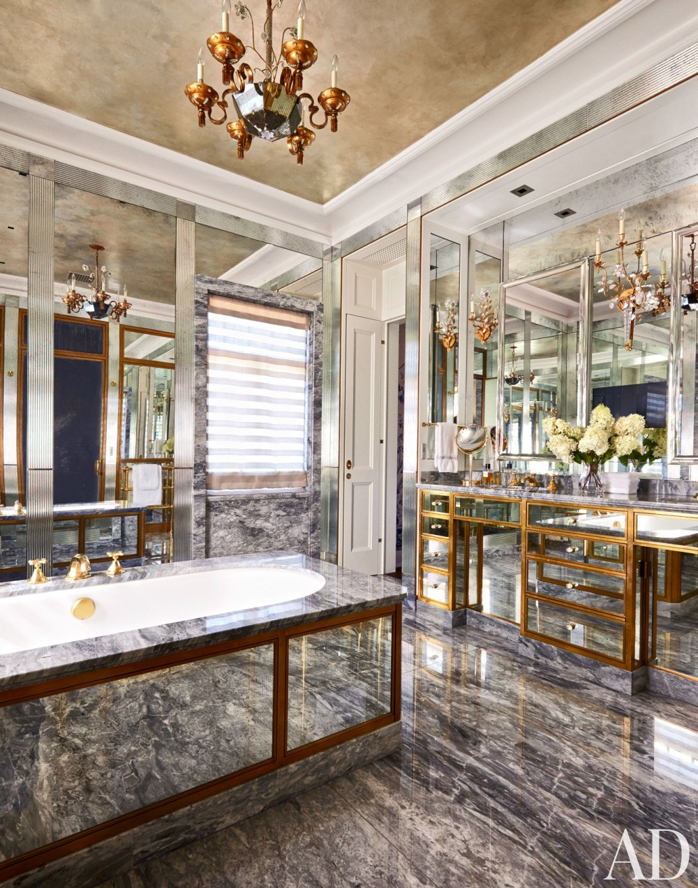 Traditional Bathroom by Michael S. Smith Inc. and Kees & Bowstead in Minneapolis, MN