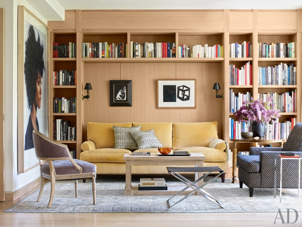 Office/Library by Neal Beckstedt in New York, NY