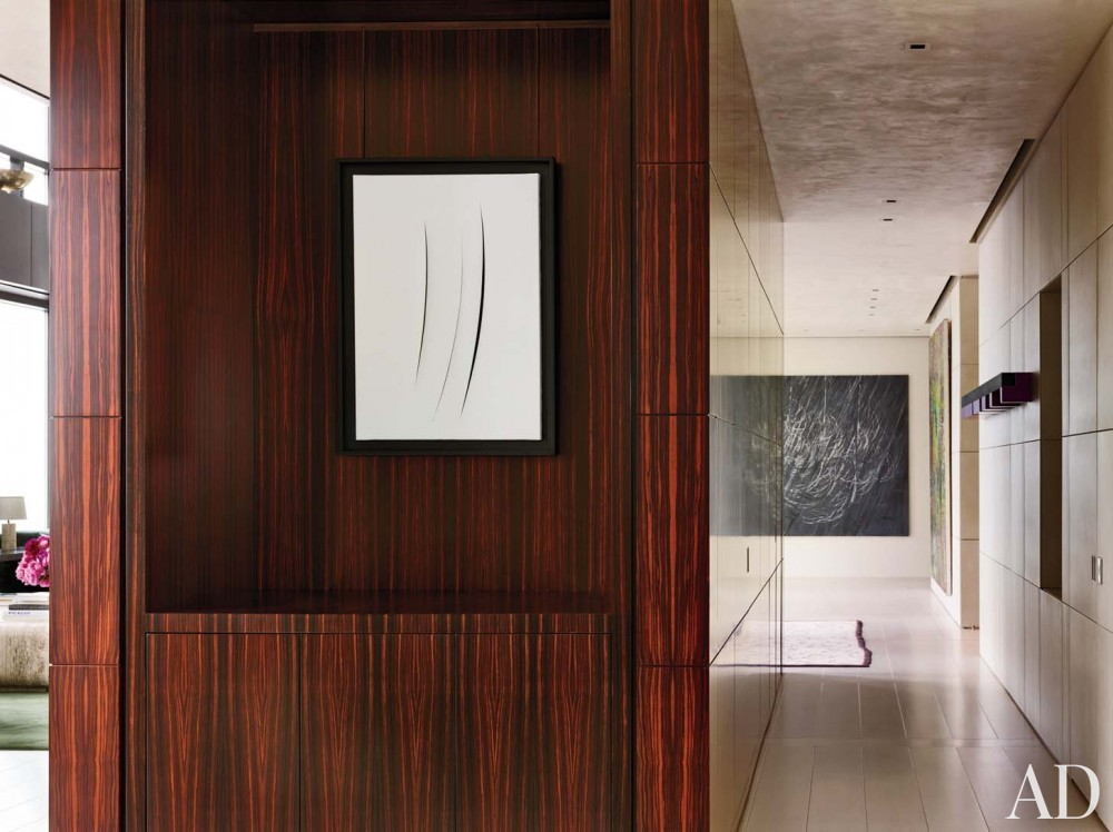 Modern Staircase/Hallway by Atelier AM and Marvin Herman & Associates in Chicago, IL