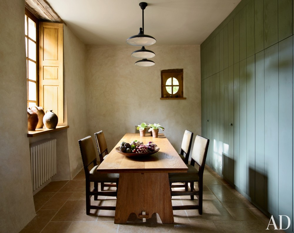 Dining Room in Normandy, France
