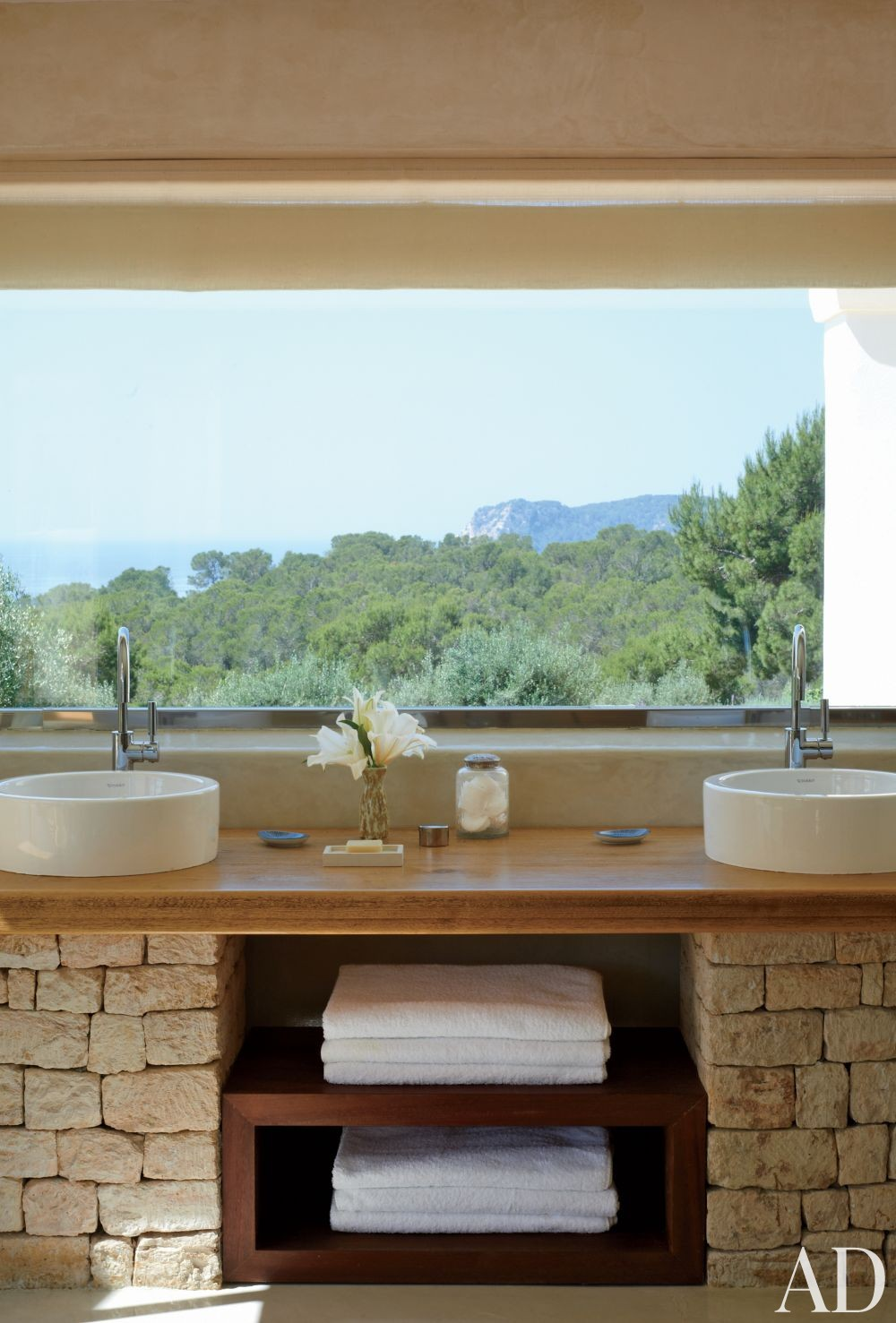 Exotic Bathroom by Carden Cunietti Ltd. in Ibiza