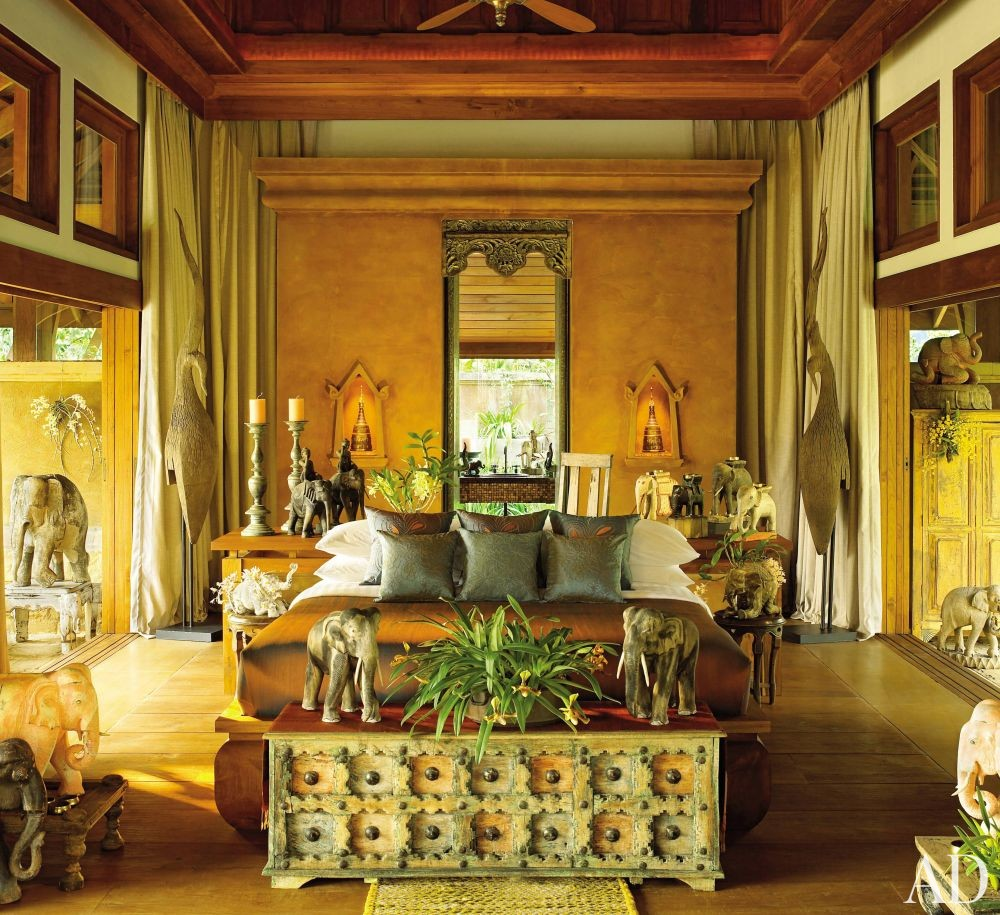 exotic bedroom by bensley design studios by architectural digest ad