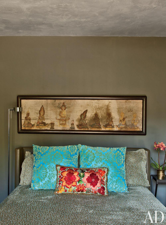 Exotic Bedroom by Desiderata Design in Los Angeles, California