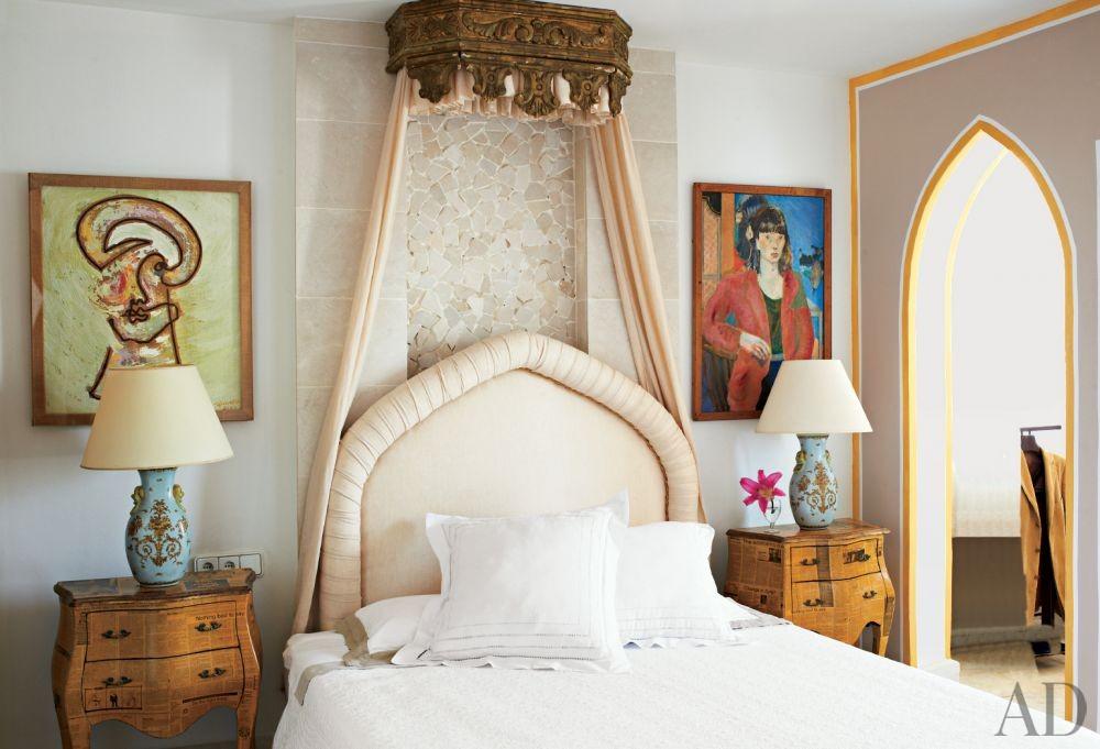Exotic Bedroom and Perla Stefani Architecture in Ibiza
