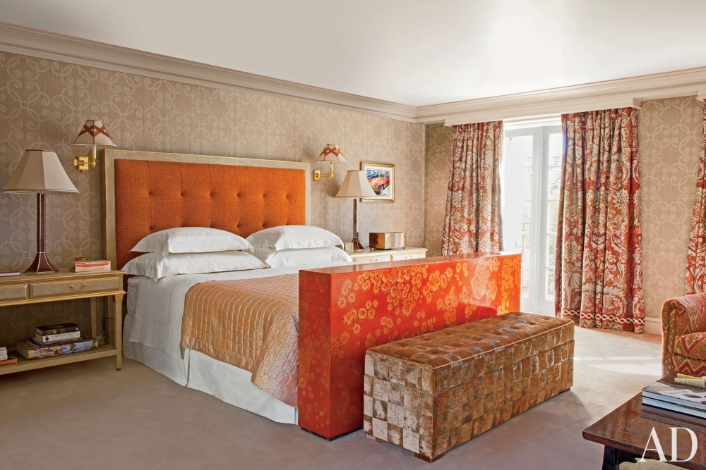 Exotic Bedroom by JP Molyneux Studio Ltd. in Pebble Beach, CA
