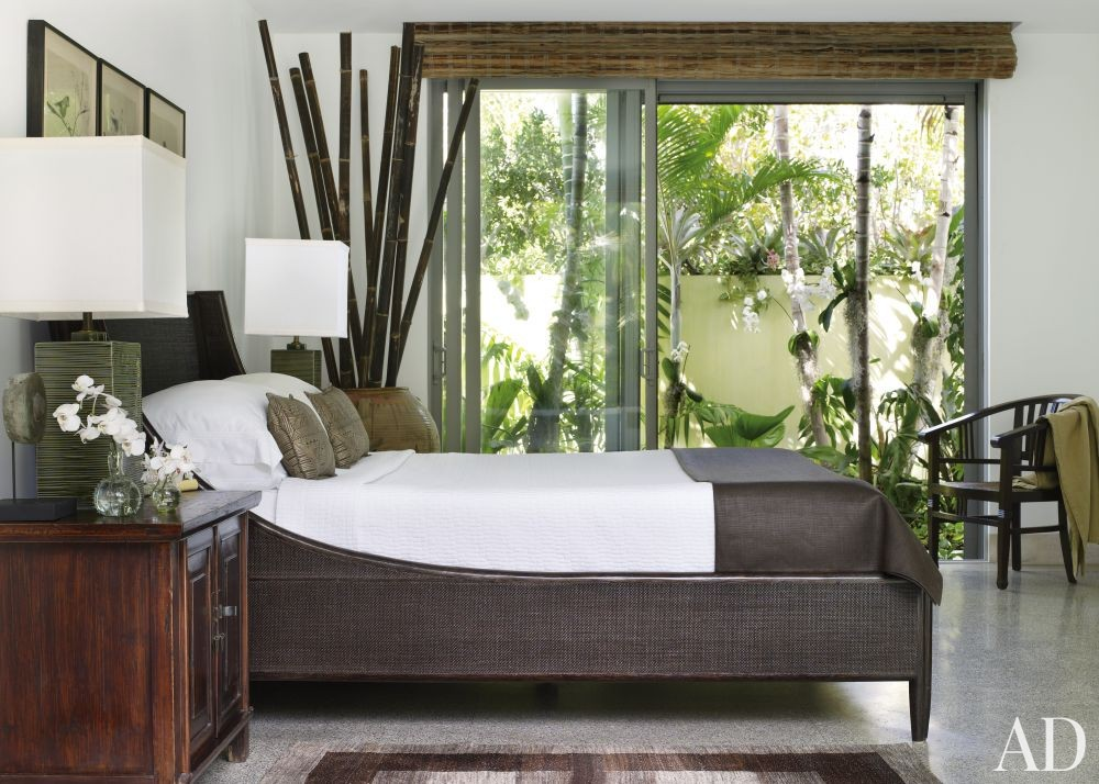 Exotic Bedroom by Malcolm James Kutner Inc. and Thomas E. Pope in Key West, FL