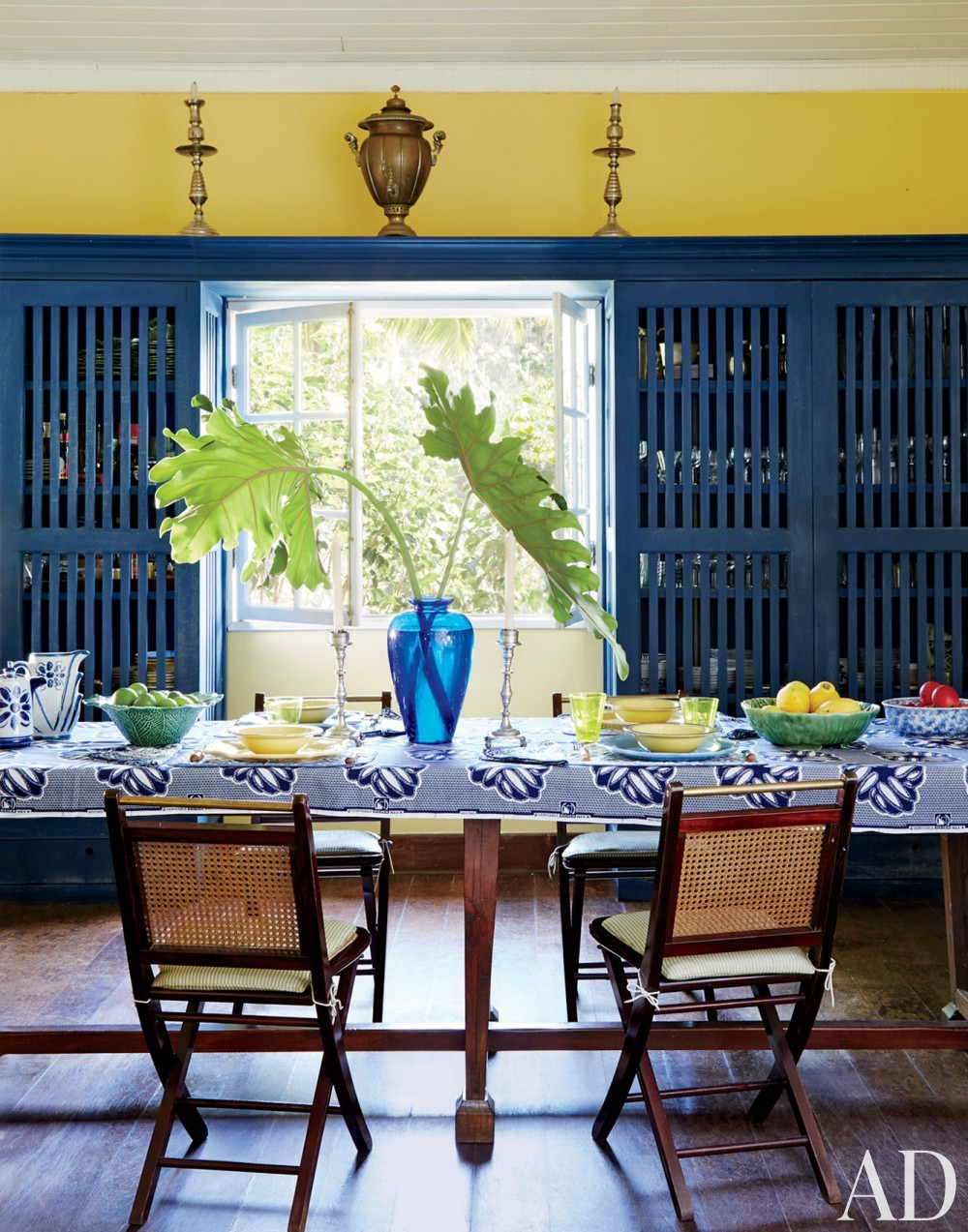 Exotic Dining Room in Brazil