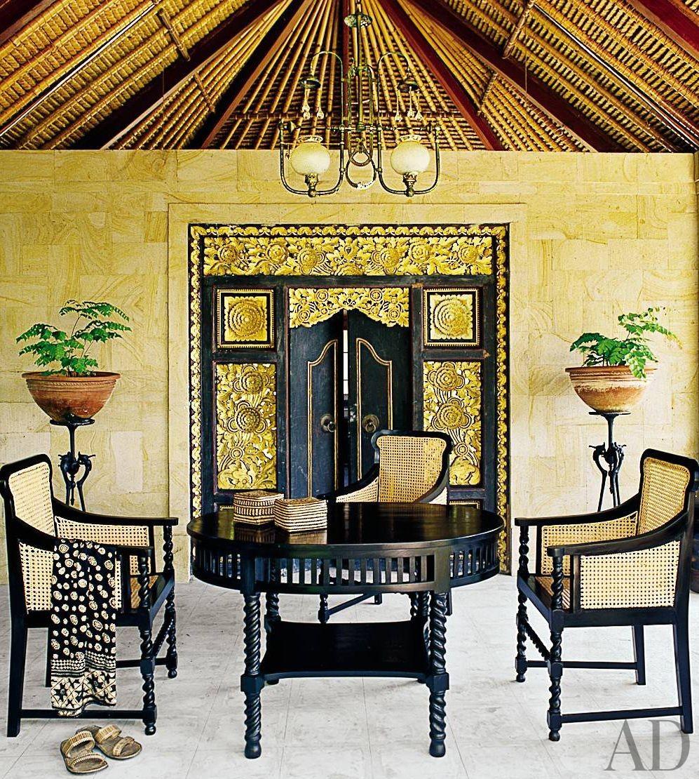 Exotic Dining Room by Made Wijaya and Made Wijaya in Ubud,Bali