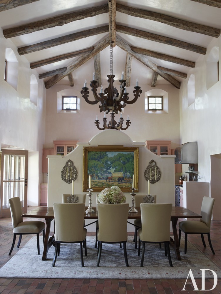 Exotic Dining Room in New Mexico