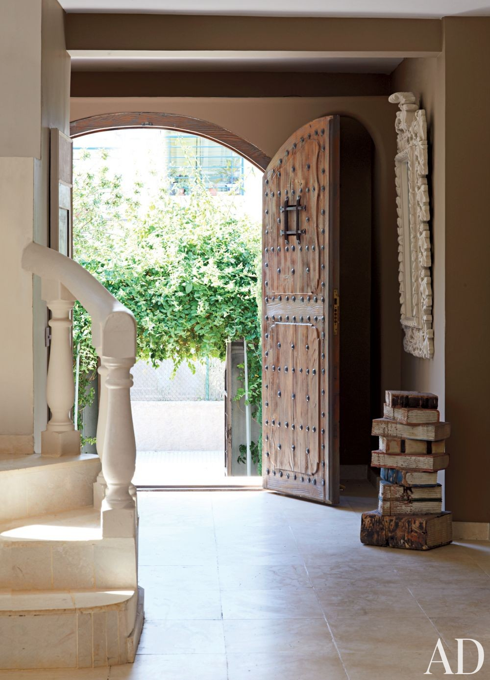 Exotic Entrance Hall and Perla Stefani Architecture in Ibiza