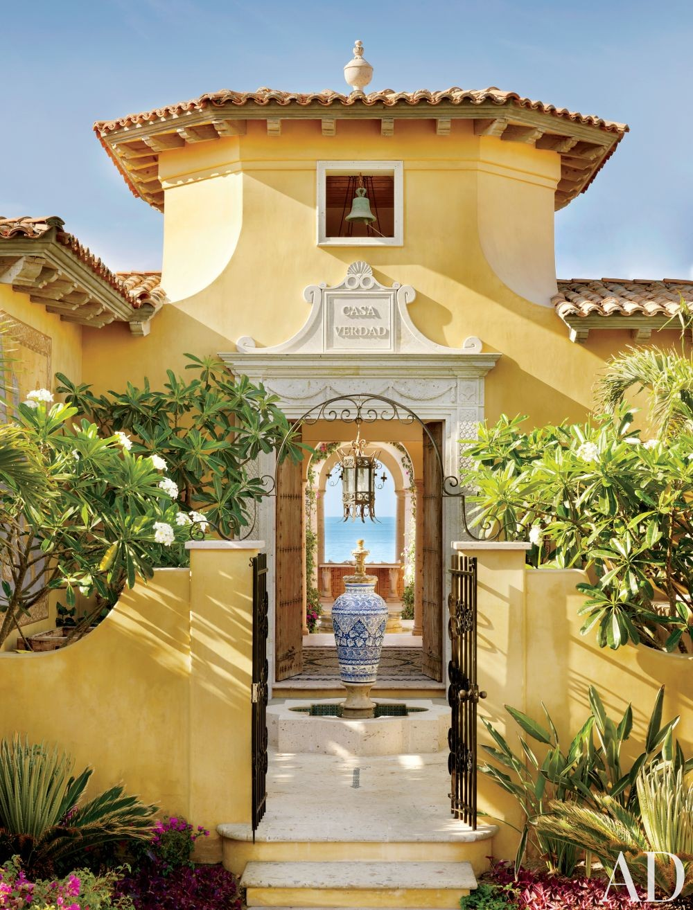 Exotic Exterior by Marshall Watson Interiors and Stephen Morgan Architect in San José del Cabo, Mexico