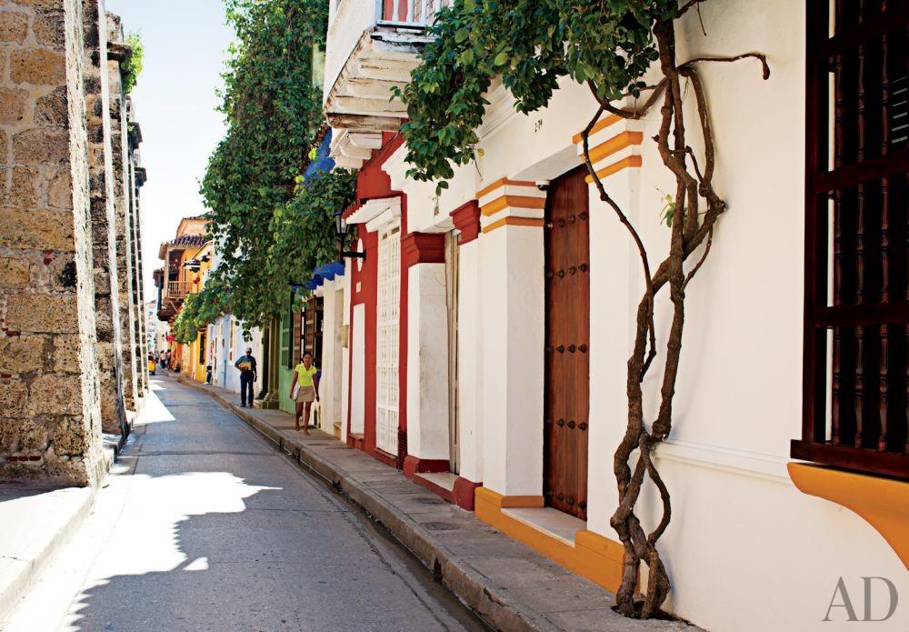Exotic Exterior by Richard Mishaan Design in Cartagena, Columbia