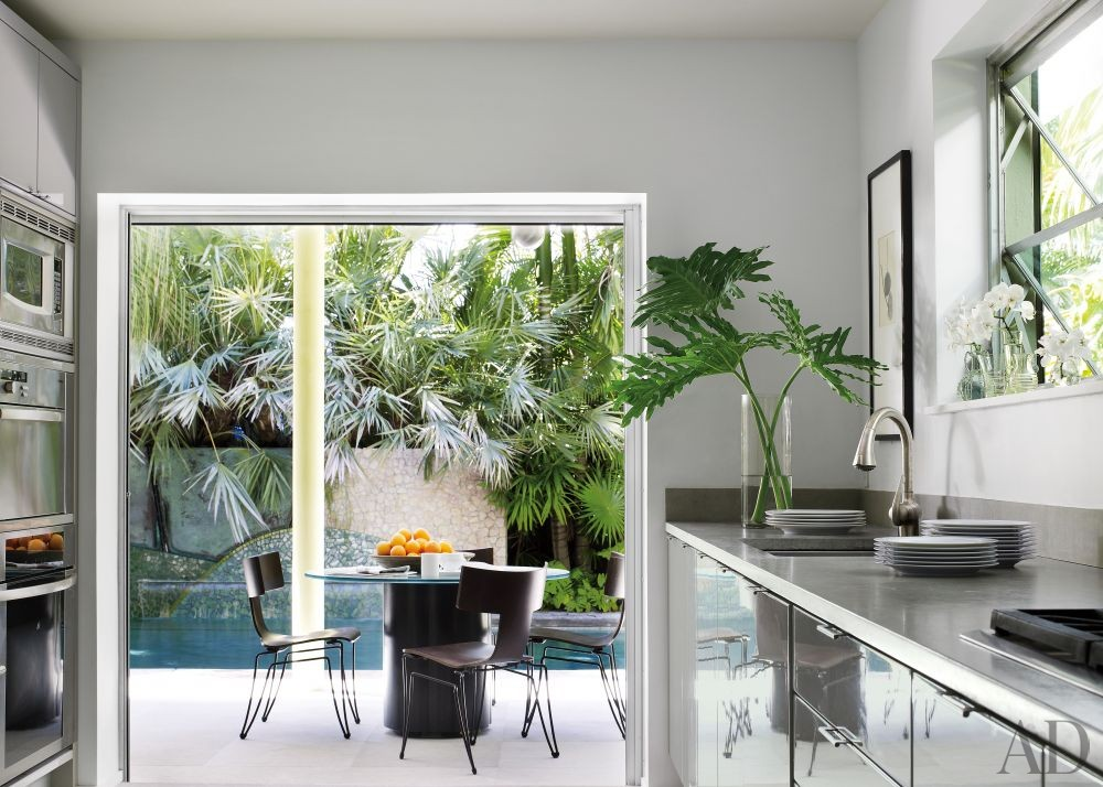 Exotic Kitchen by Malcolm James Kutner Inc. and Thomas E. Pope in Key West, Florida