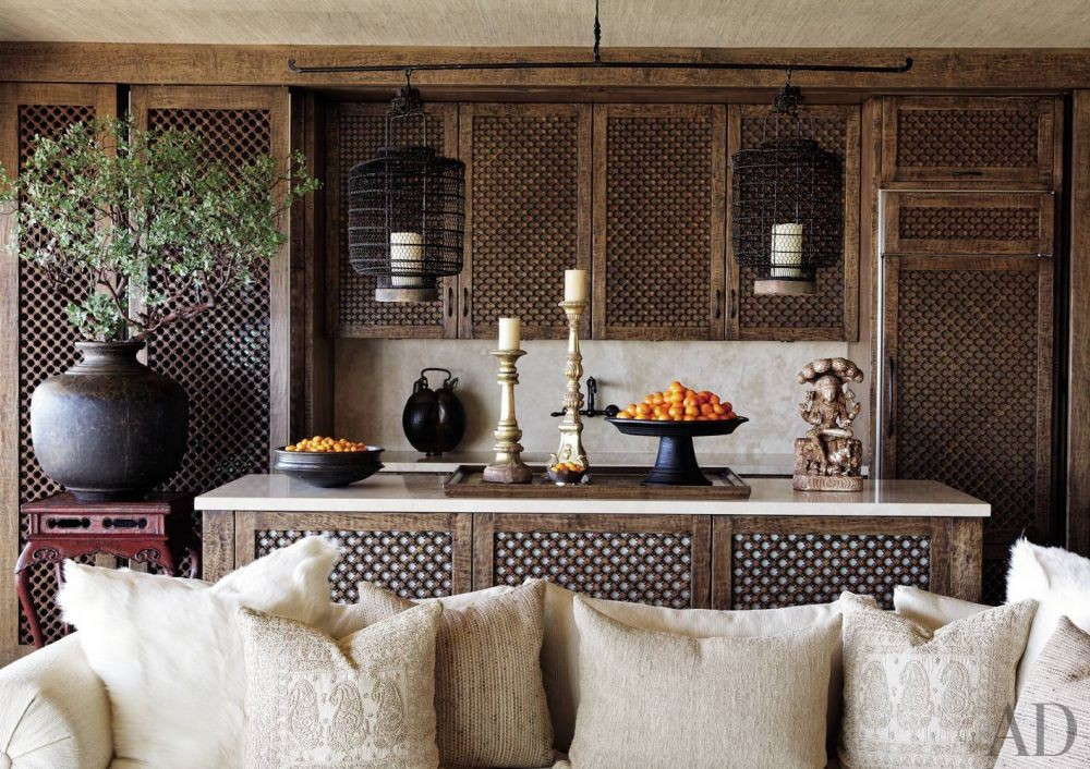 Exotic Kitchen By Martyn Lawrence Bullard Design By Architectural Digest Ad Designfile Home