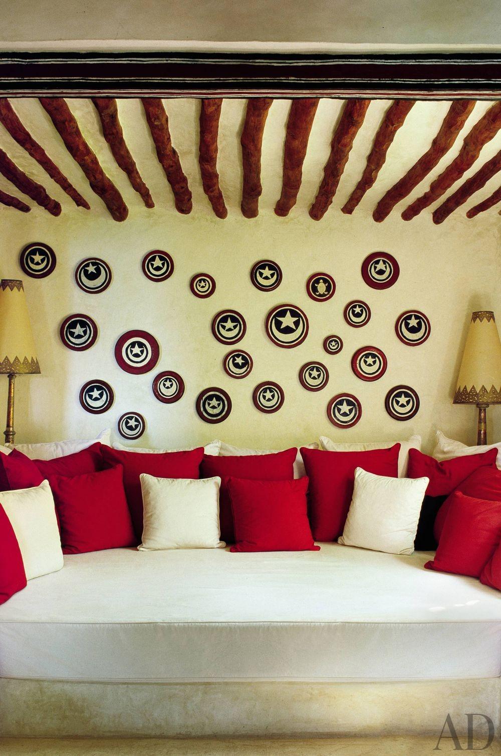 Exotic Living Room by E. Claudio Modola in Lamu, Kenya