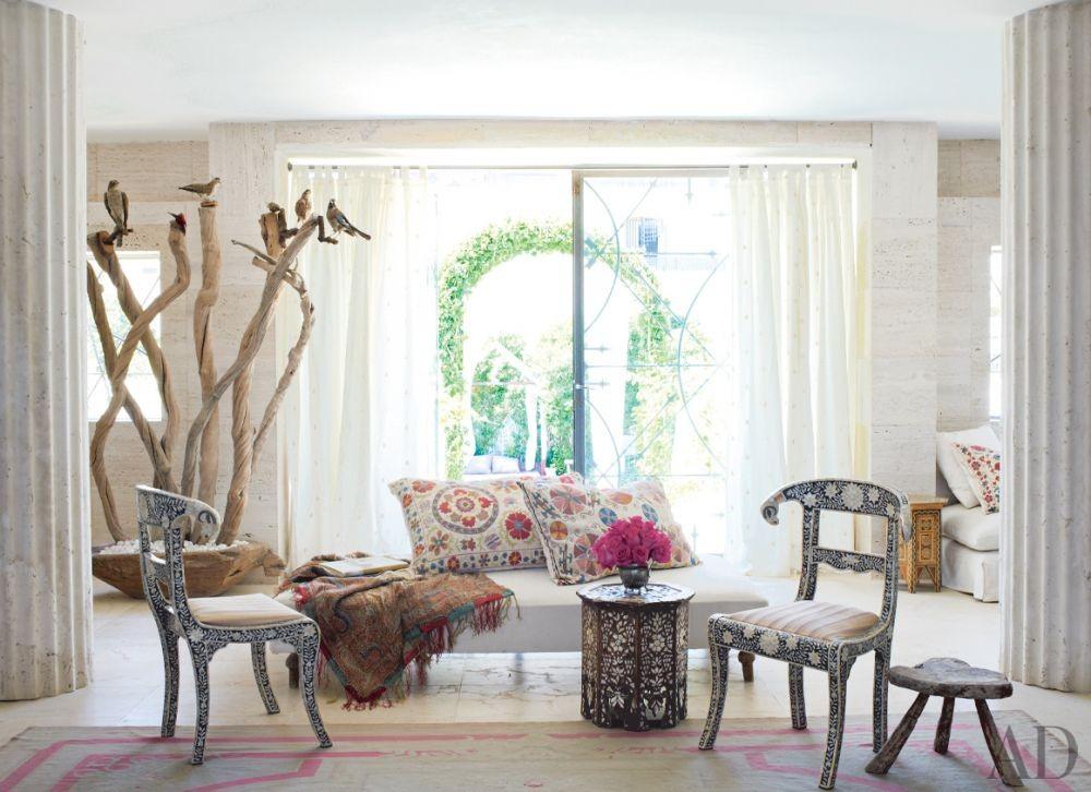 Exotic Living Room and Perla Stefani Architecture in Ibiza