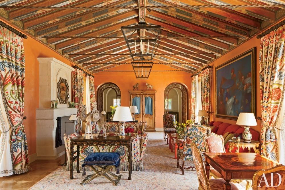 Exotic Living Room by JP Molyneux Studio Ltd. in Pebble Beach, CA