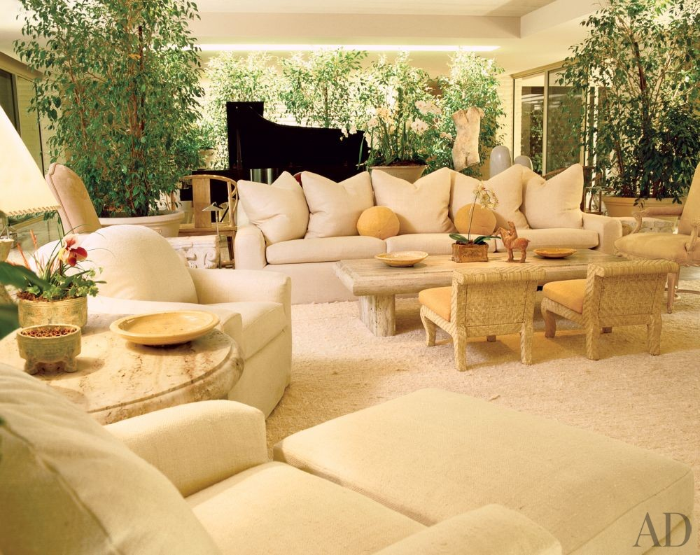 Exotic Living Room By Michael Taylor By Architectural