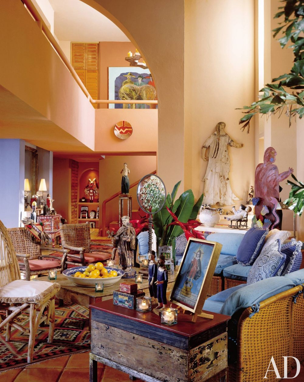 Exotic Living Room Ideas: Exotic Living Room By Peter Bowman By Architectural Digest