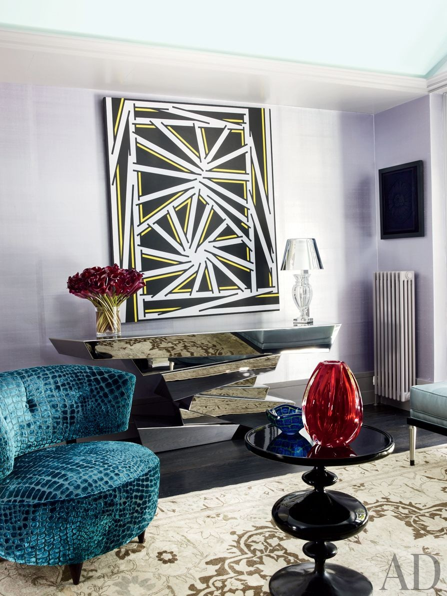 Exotic Living Room by Rafael de Cárdenas Ltd./Architecture at Large in London, England