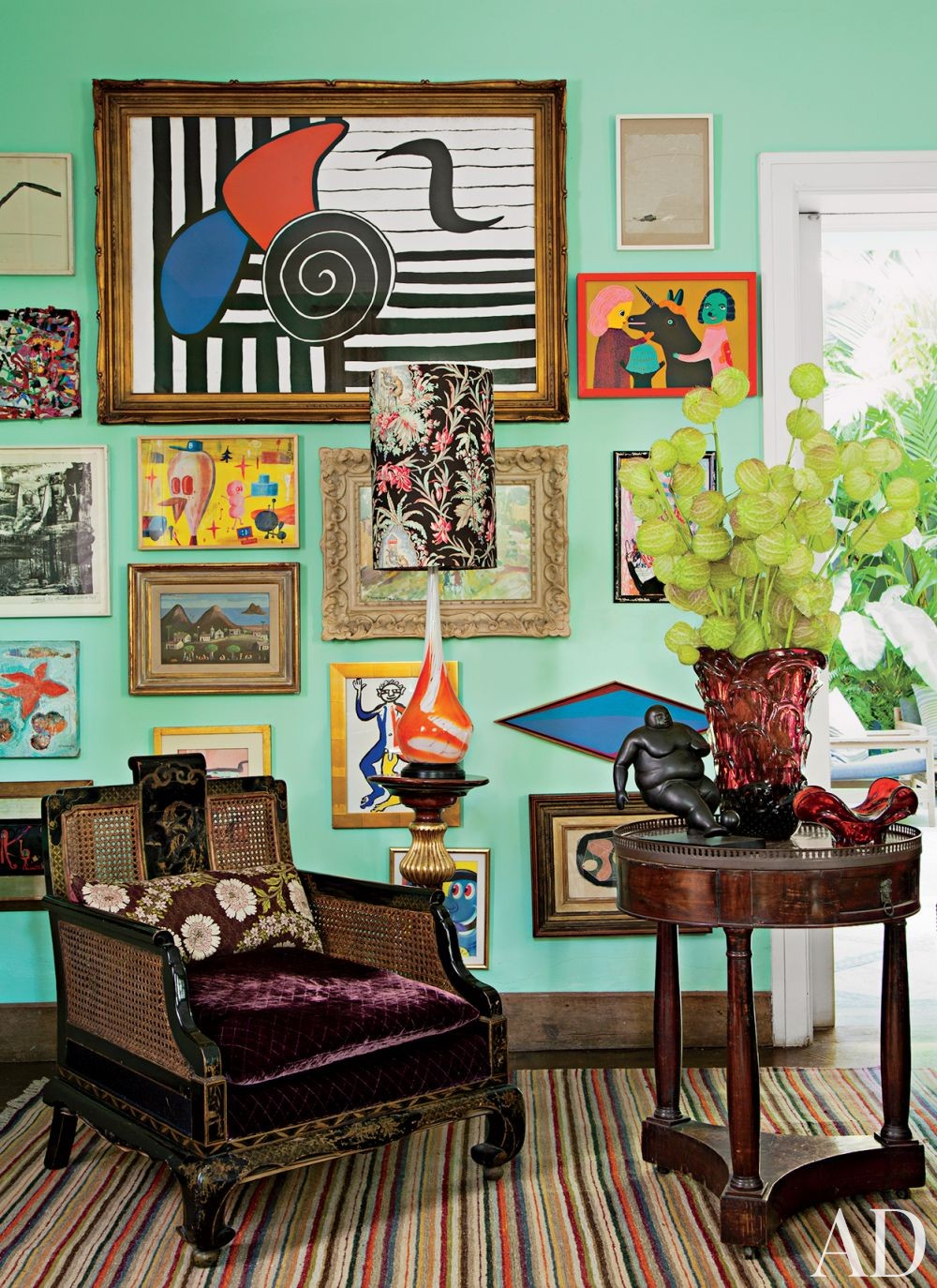 Exotic Living Room By Sig Bergamin By Architectural Digest