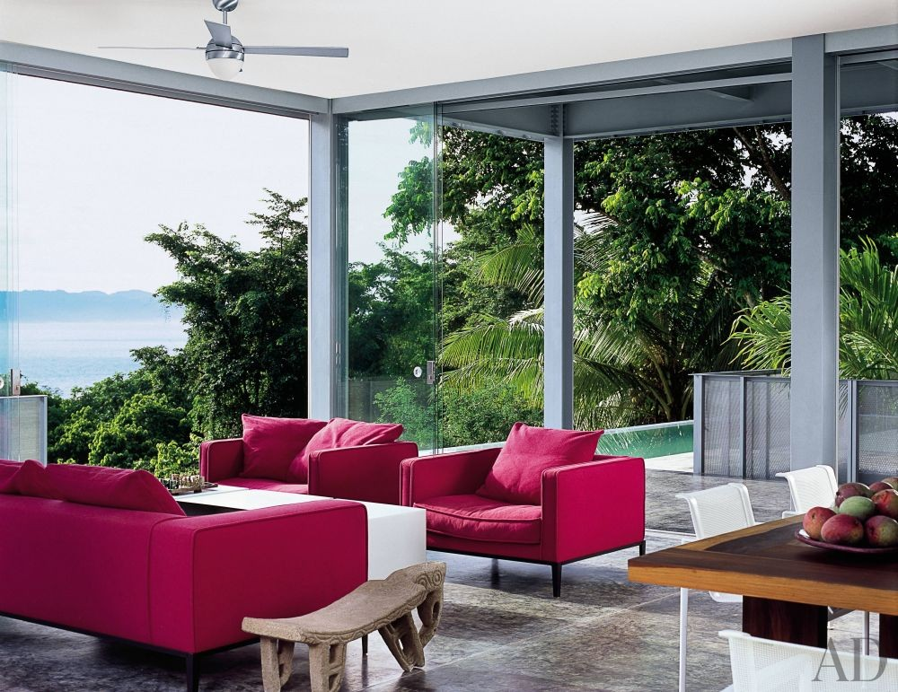 Exotic Living Room by SPG Architects and SPG Architects in Costa Rica