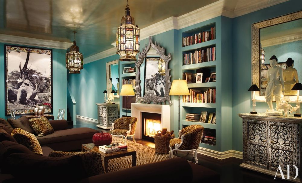 Exotic Living Room By Thomas Britt Inc By Architectural
