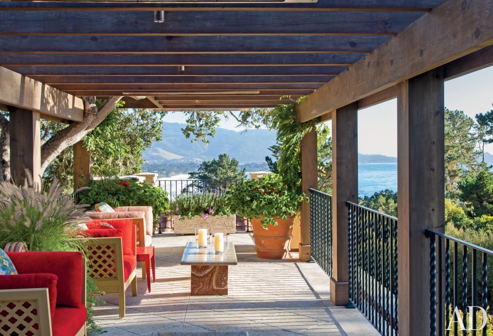 Exotic Outdoor Space by JP Molyneux Studio Ltd. in Pebble Beach, CA