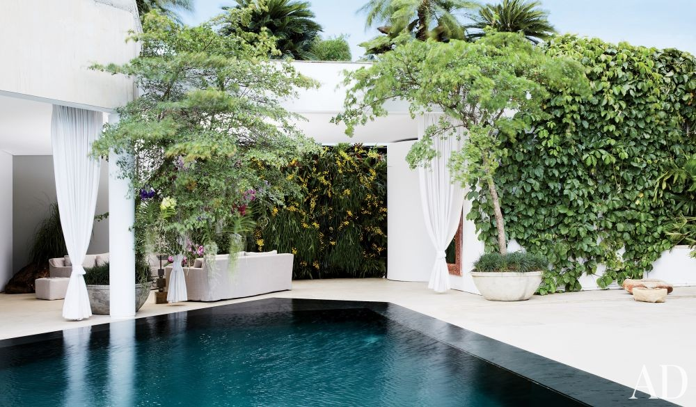 Exotic Pool by Jean-Louis Deniot and Jean-Louis Deniot in Colombia