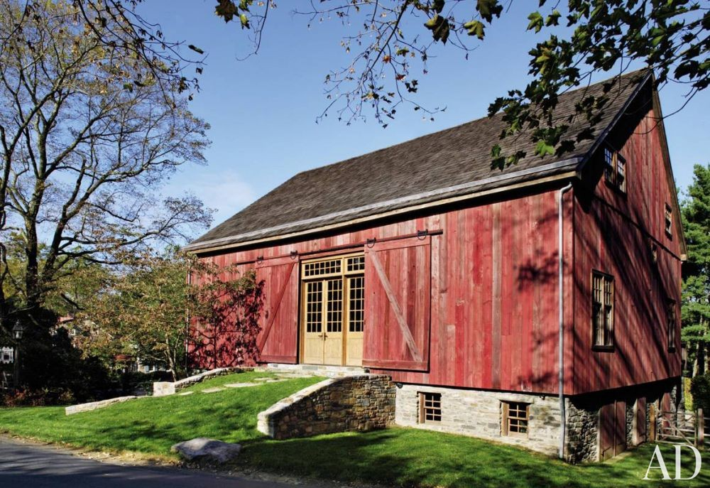 Exterior by Penny Drue Baird and Irwin Weiner in Bucks County, Pennsylvania