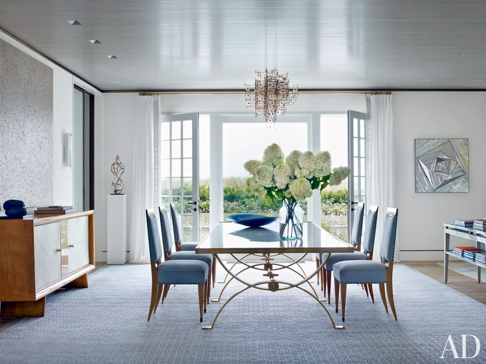 Beach Dining Room by Cullman & Cravis and Ike Kligerman Barkley in Sagaponack, NY