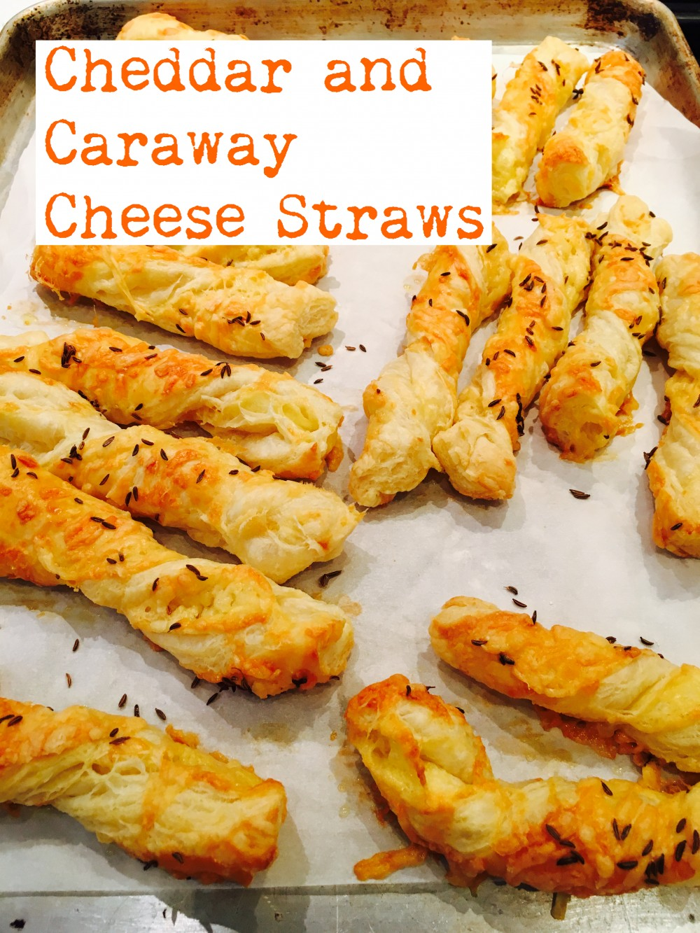 Cheddar and Caraway Cheese Straws by Blythe's Blog ...