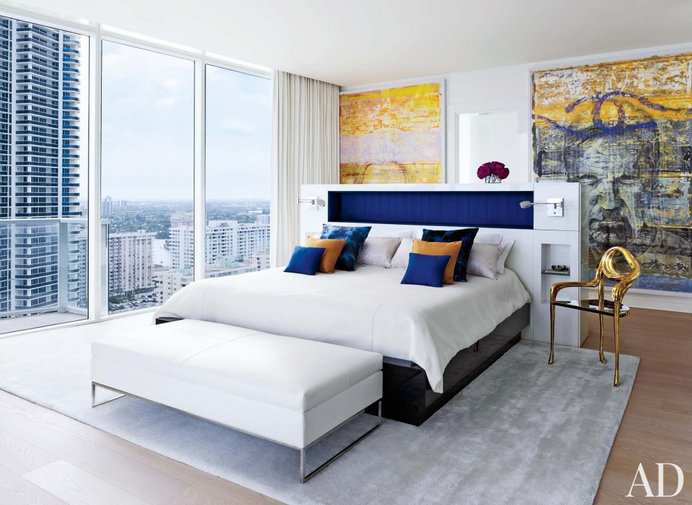 Contemporary Bedroom in Hollywood, FL