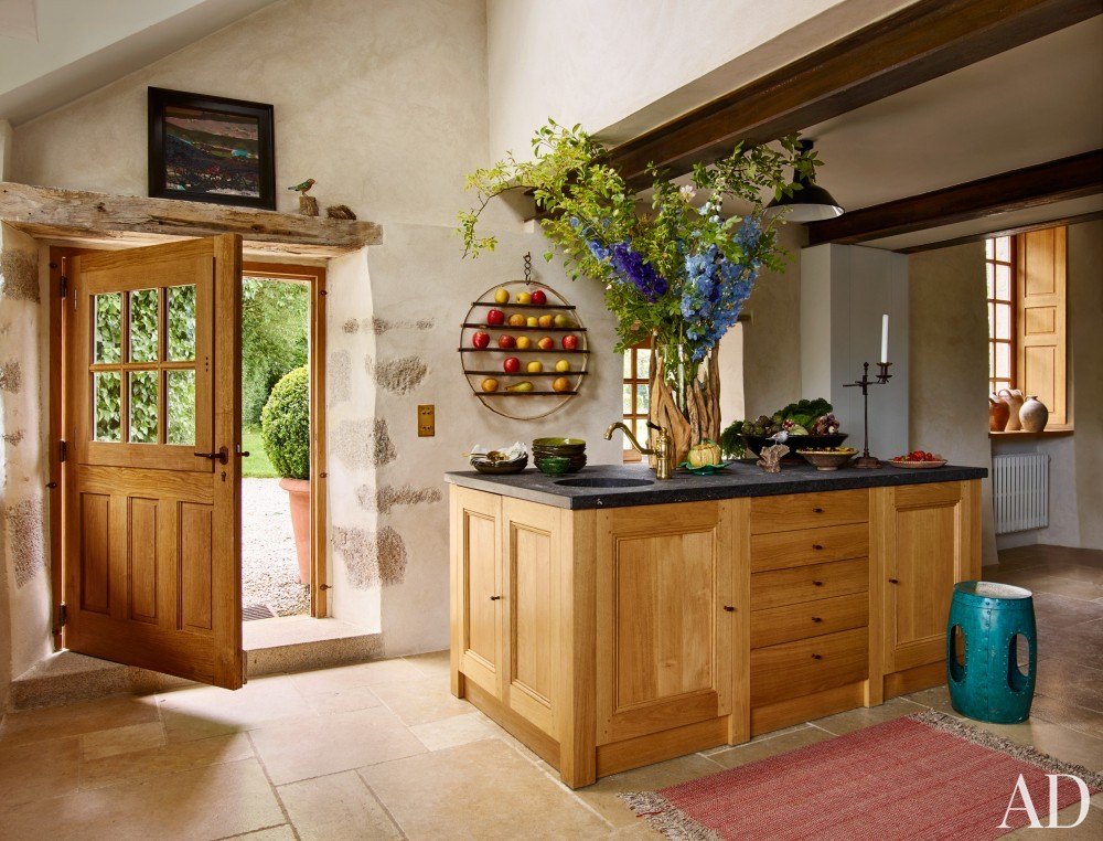 Kitchen in Normandy, France