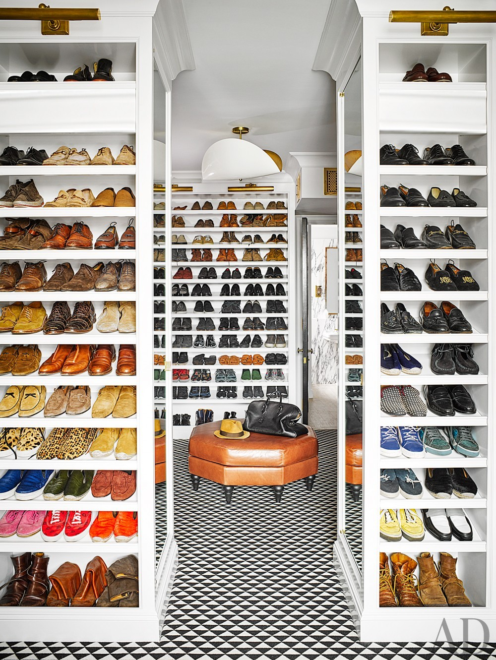 Dressing Room/Closet by Nate Berkus and Jeremiah Brent in New York, NY