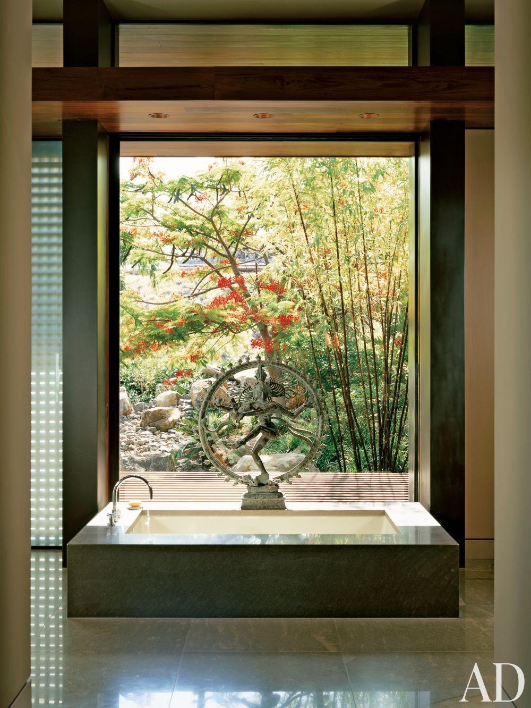 Modern bathroom by anne gunderson by architectural digest for Bath remodel hawaii