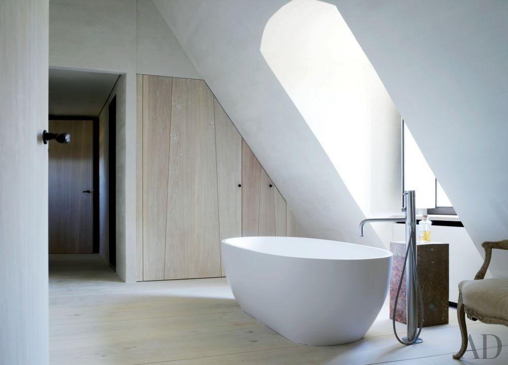 Modern Bathroom by Axel Vervoordt in Belgium