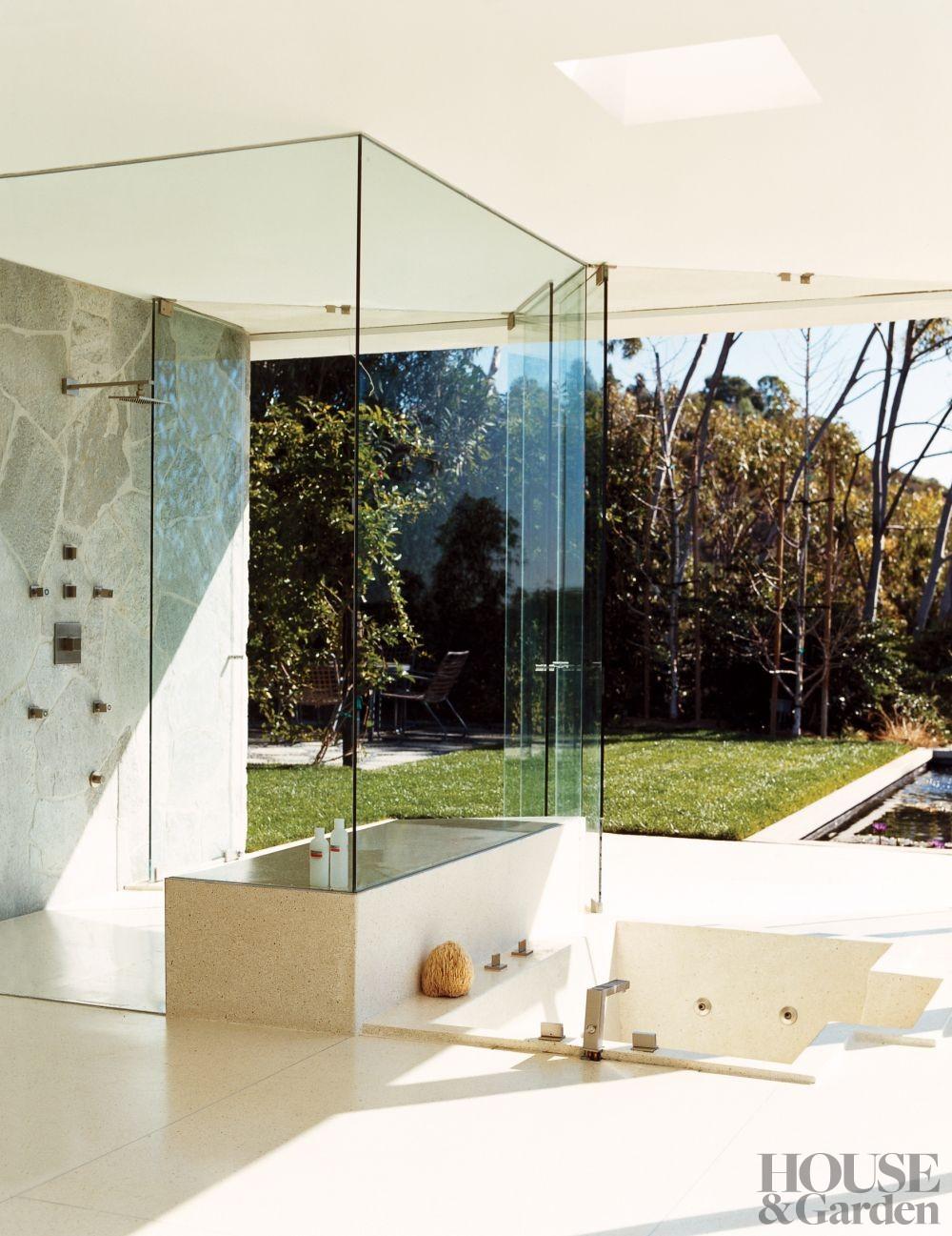 modern bathroom by carole katleman interiors by
