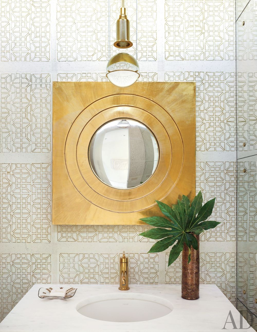 Modern Bathroom by Emily Summers Design Associates and o2 Architecture in Indian Wells, California