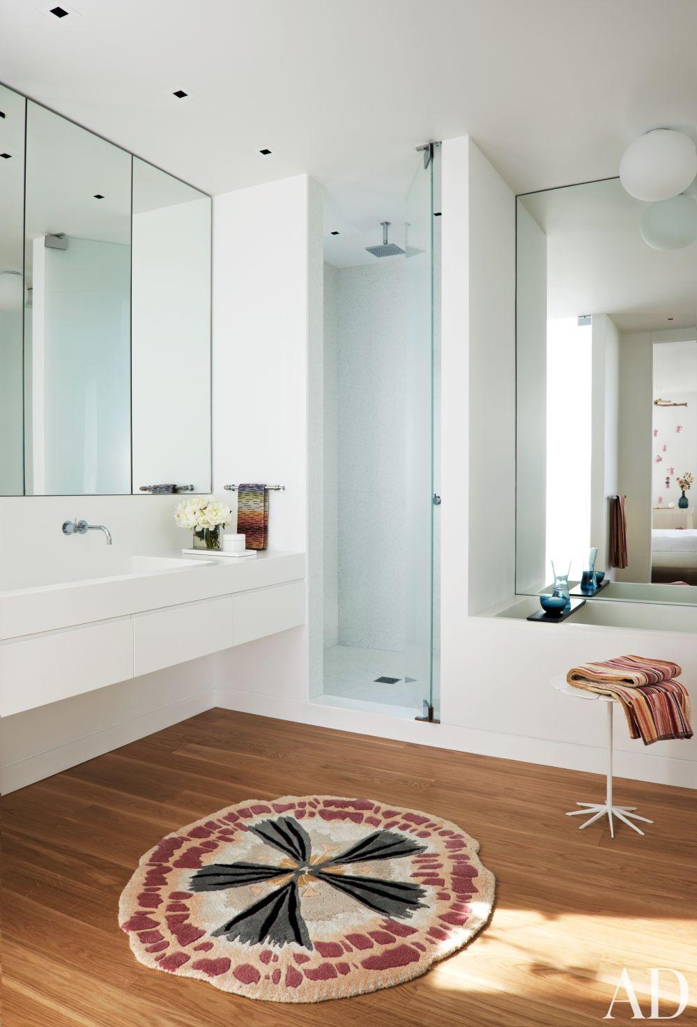 Modern Bathroom by Kallos Turin in Carpinteria, California