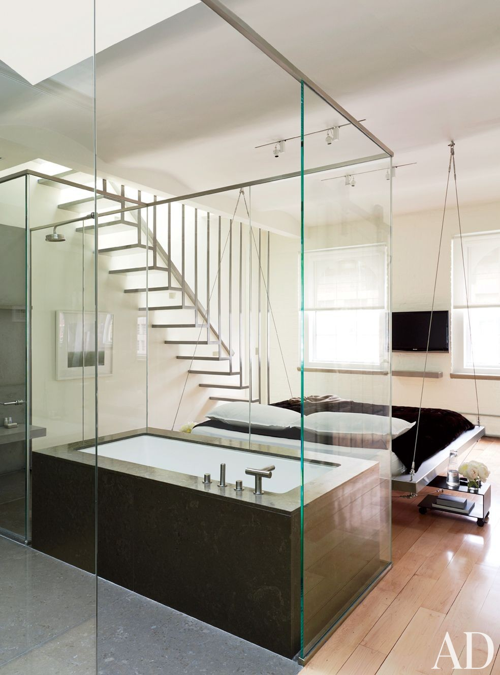 modern bathroom by mr architecture d cor by architectural digest