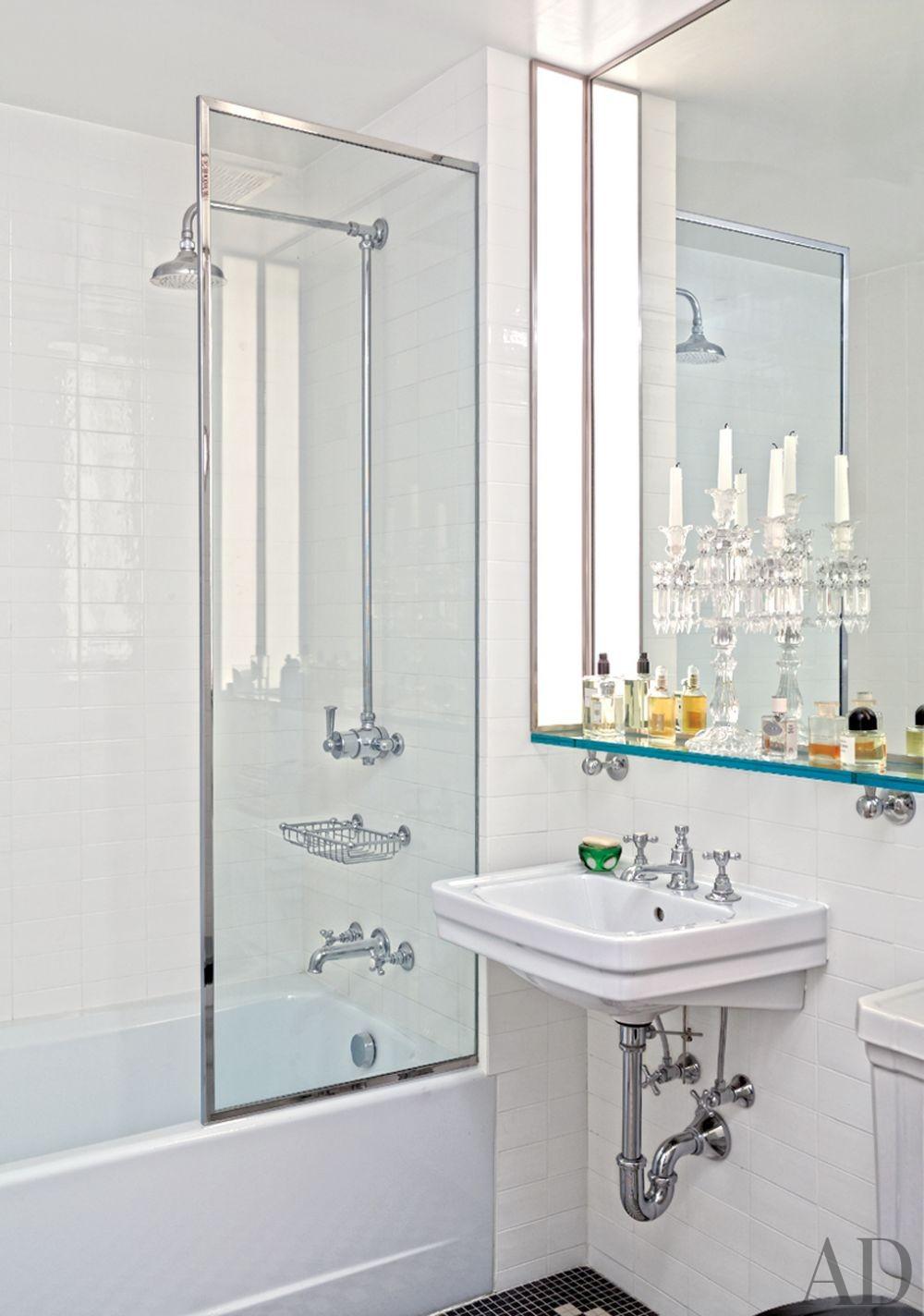 Modern Bathroom by Robert Passal Interior & Architectural Design in New York, New York