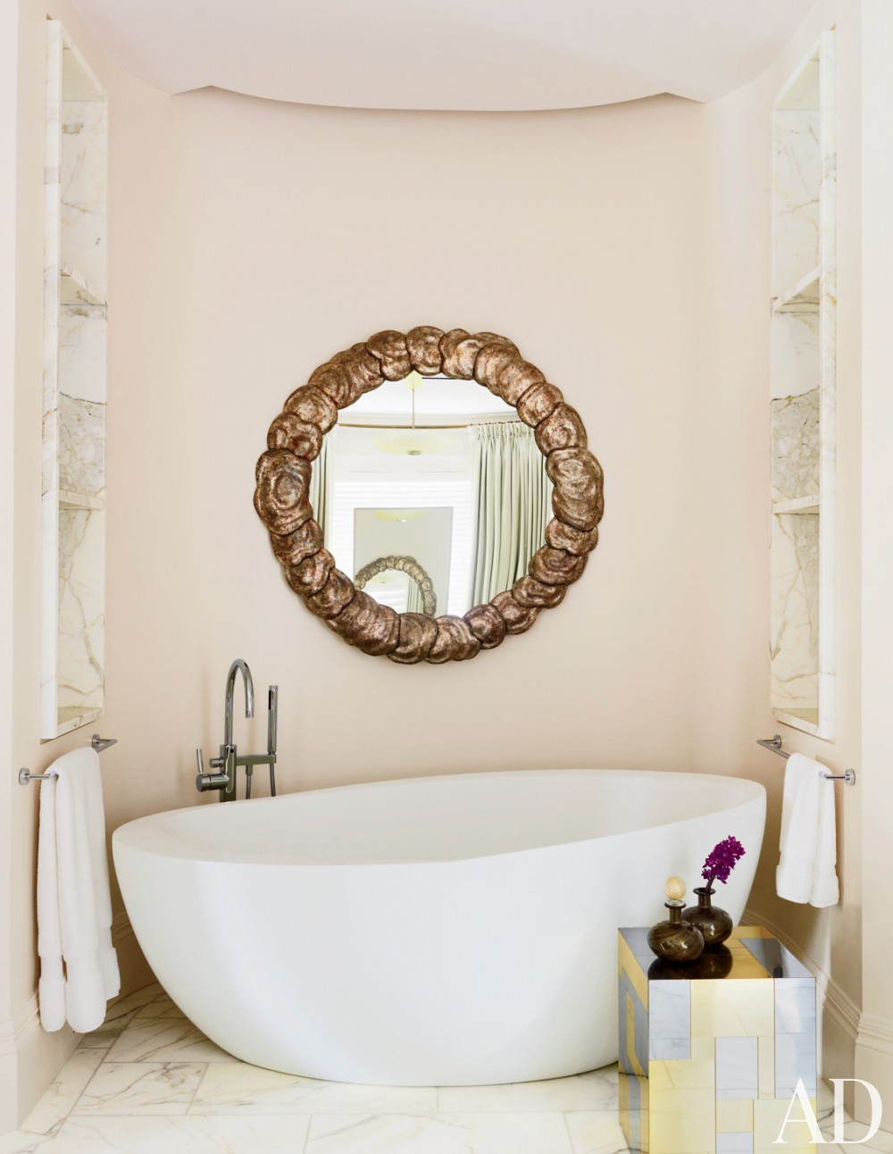 Modern Bathroom by Thad Hayes Inc. and Dell Mitchell Architects in Boston, Massachusetts