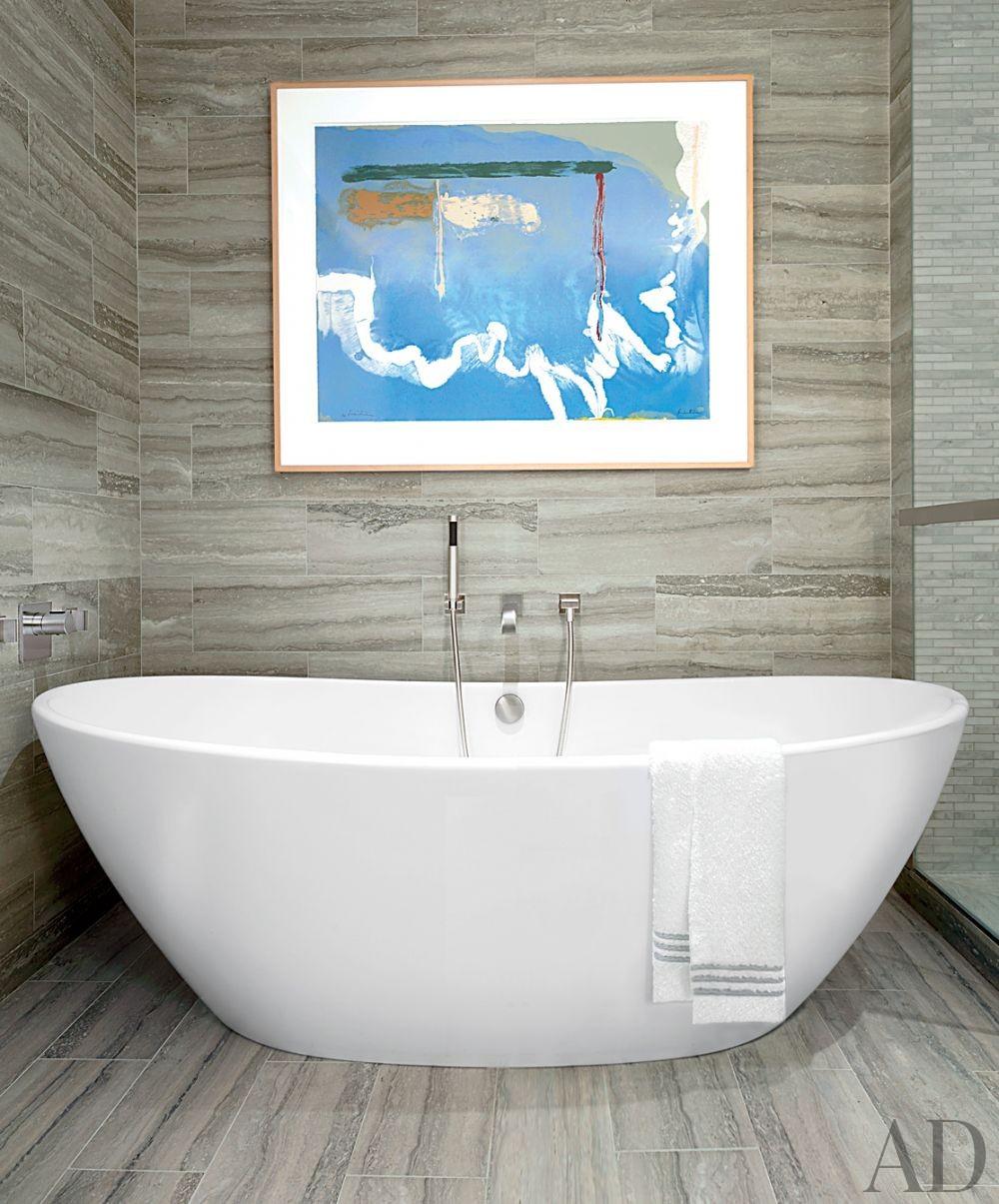 Modern Bathroom by Vicente Wolf Associates Inc. in New York, New York