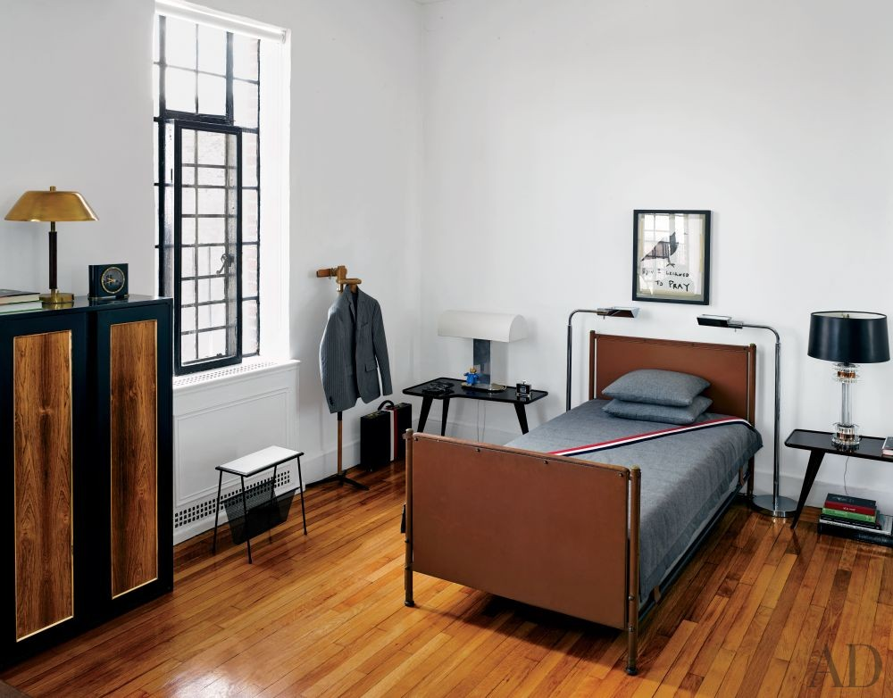 Modern Bedroom by Biscaye Frères in New York, New York