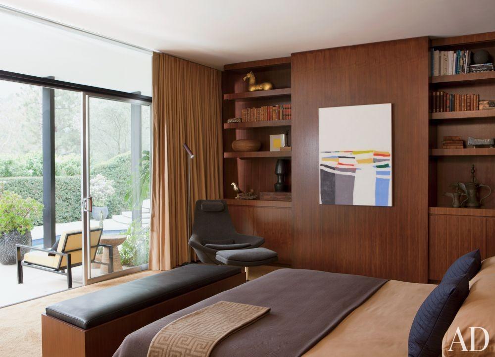 Modern Bedroom by Brad Dunning Design in Beverly Hills, California