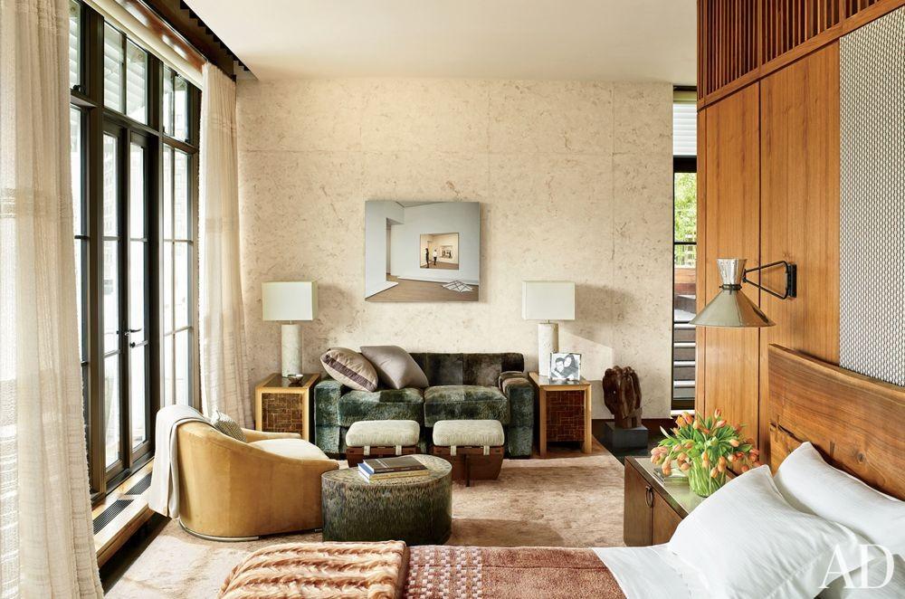 Modern Bedroom by De la Torre Design Studio and Cooper, Robertson & Partners in New York, New York