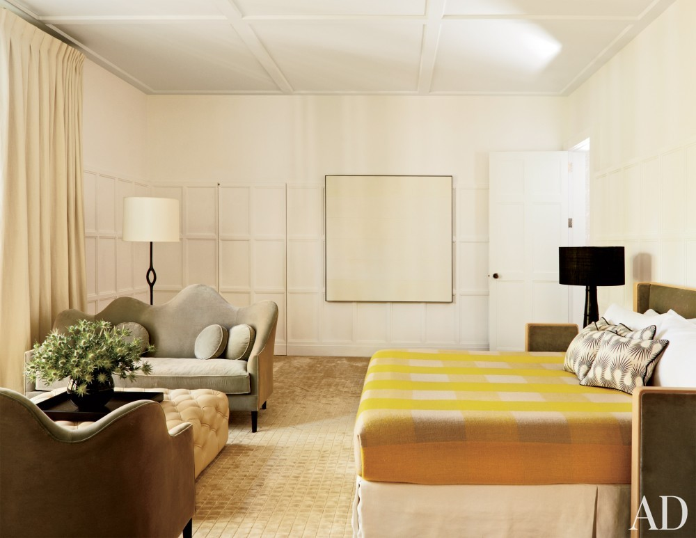 Modern Bedroom by India Mahdavi in Litchfield County, CT