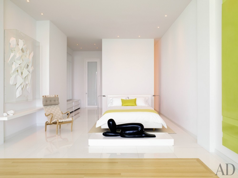 Modern Bedroom by Jennifer Post and Jennifer Post in Miami Beach, FL