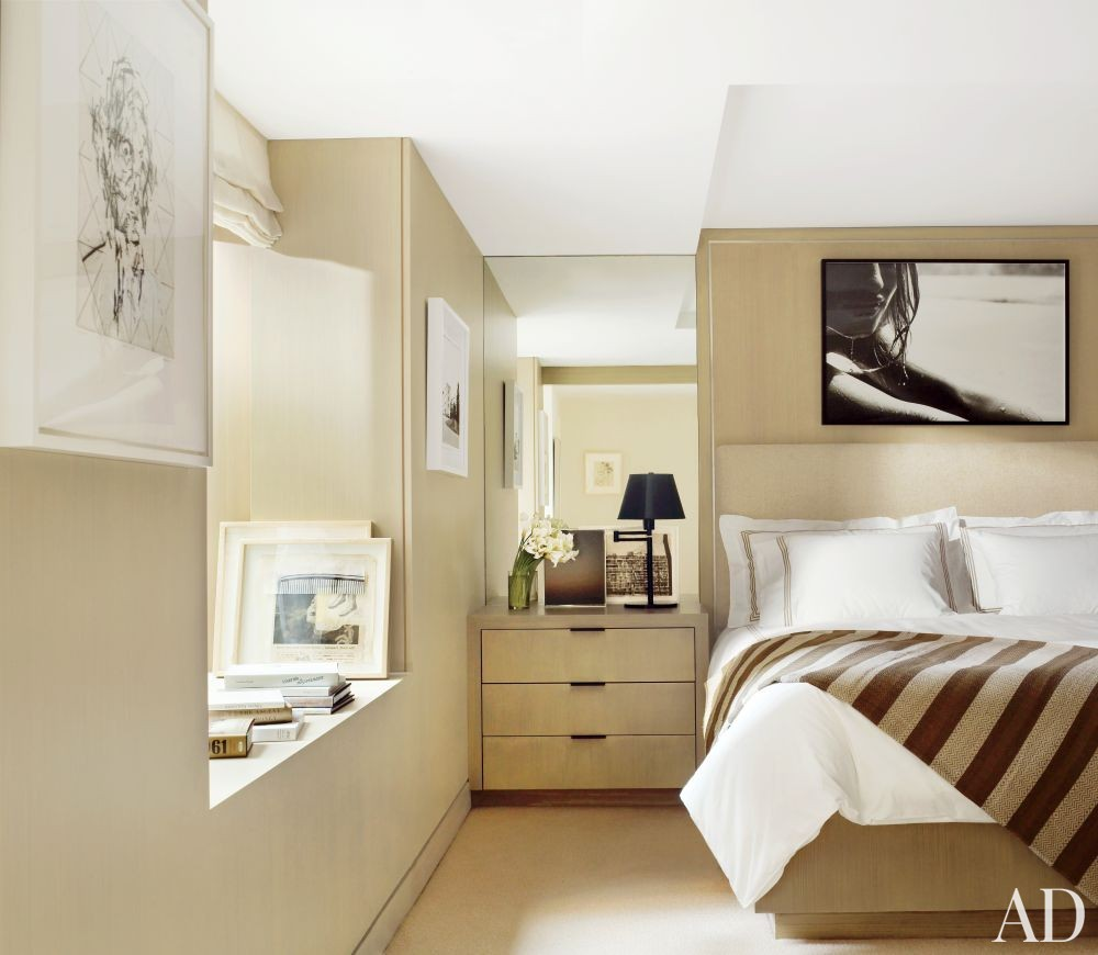 Modern Bedroom by MAC II and John Pawson in New York, New York